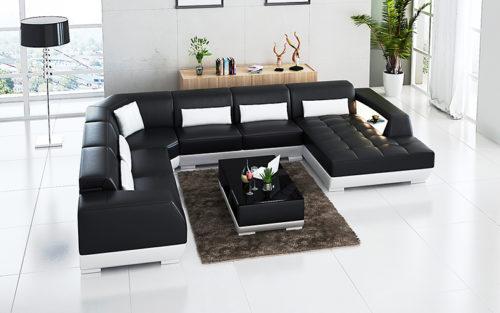 Natalie U-divan soffa