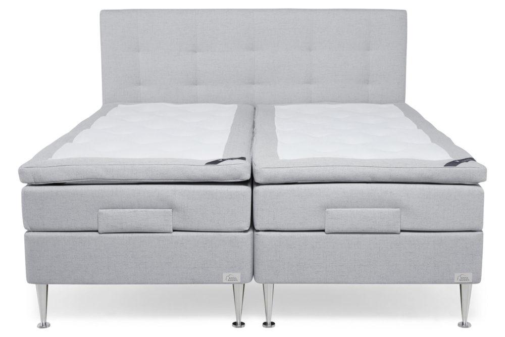 Venus grå ställbar säng