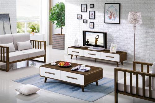 Amanda paket soffbord + tv-bänk