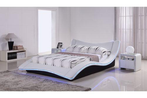 Austin_säng_LED_möbler online