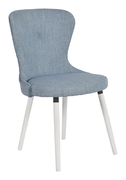 Betty stol blå textil - RGE - Möblera Online