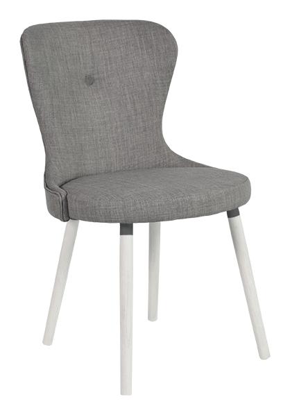 Betty stol grå textil - RGE - Möblera Online