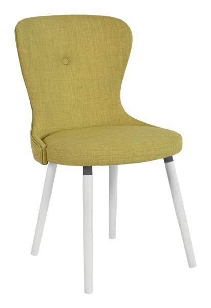 Betty stol grön textil - RGE - Möblera Online