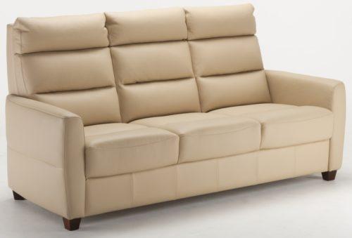 Comforto 3-sits soffa i skinn - Pohjanmaan