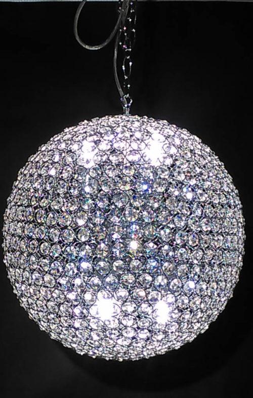 Kristallbollen taklampa