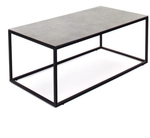 Jenny soffbord mässing med svart glas Möblera Online