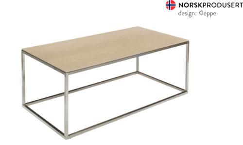Lido soffbord vitoljad ek_borstat stål_ben