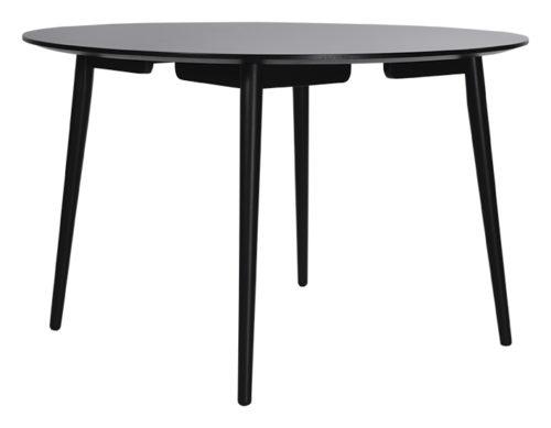 Perstorp runt matbord svart