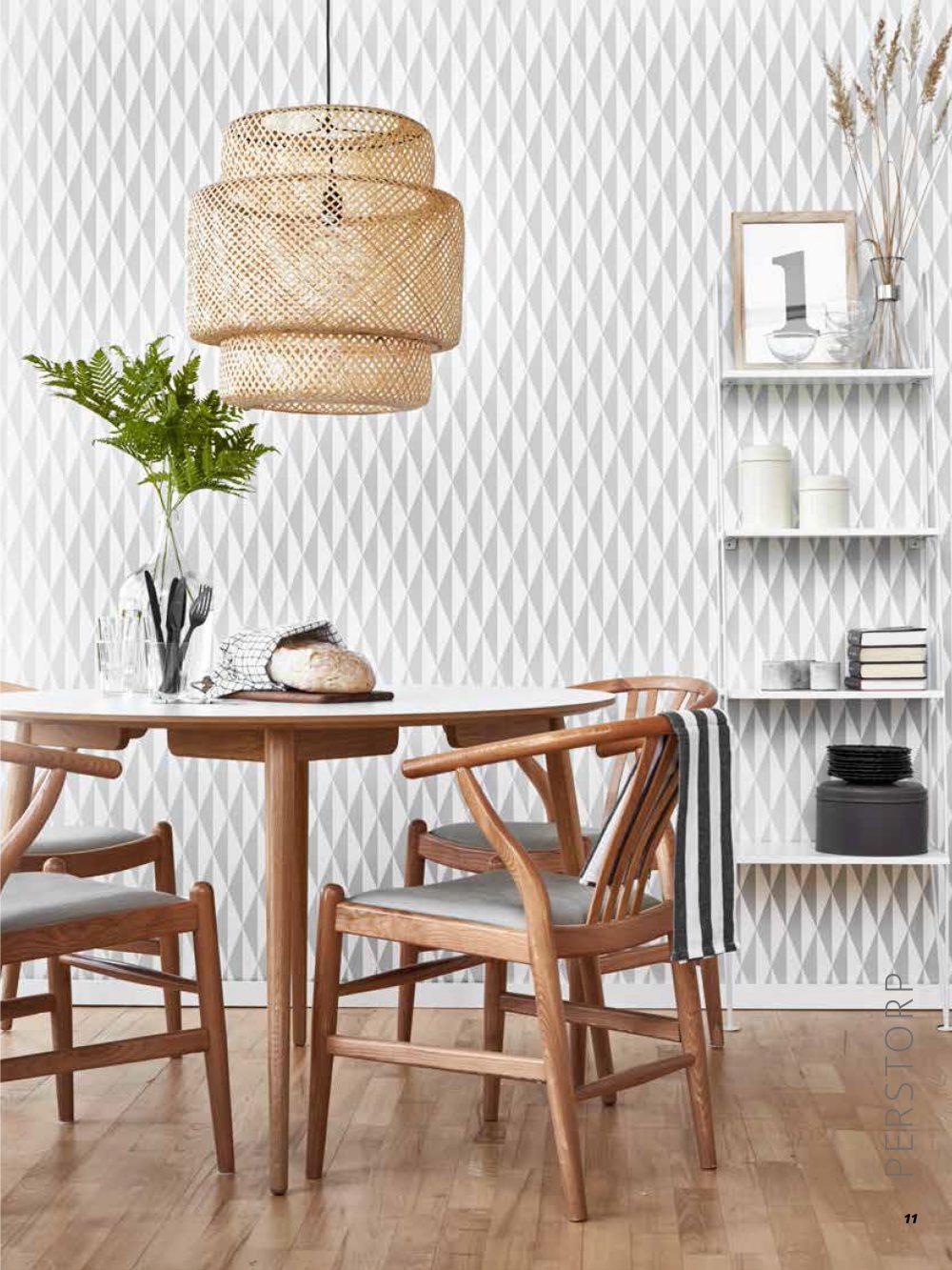 Perstorp runt matbord vit miljö
