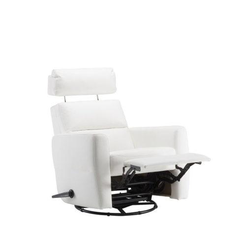 Comforto recliner fåtölj i skinn - Pohjanmaan