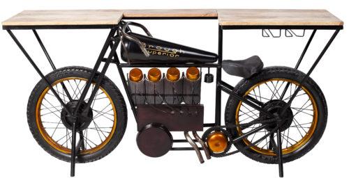 Brough motorcykel barbord - Möblera Online