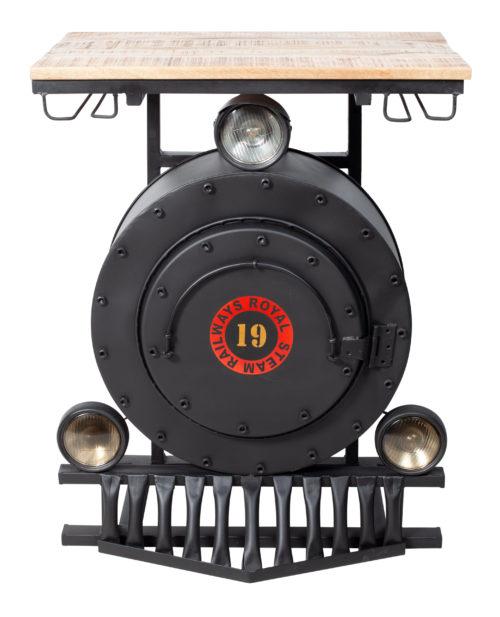 Lokomotiv barbord RGE framifrån - Möblera Online
